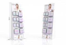 display kartonowy na kosmetyki